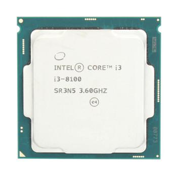 Intel Core i3-8100 Quad Core 3.60GHz 6MB L3 Cache Socket 1151 Processor Mfr P/N L11738-001