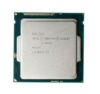 Lenovo 2.70GHz 5.00GT/s DMI2 3MB L3 Cache Socket LGA1150 Intel Pentium G3420T Dual Core Desktop Processor Upgrade Mfr P/N 00AL295
