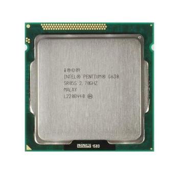 Dell 2.70GHz 5.00GT/s DMI 3MB L3 Cache Intel Pentium G630 Dual Core Processor Upgrade Mfr P/N J9KD9