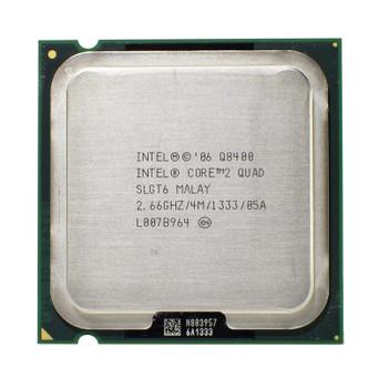 Dell 2.66GHz 1333MHz FSB 4MB L2 Cache Intel Core 2 Quad Q8400 Processor Upgrade Mfr P/N J500T
