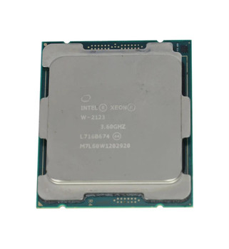 Lenovo 3.60GHz 8.25MB Cache Socket FCLGA2066 Intel Xeon W-2123 Quad Core Processor Upgrade Mfr P/N 01AG206