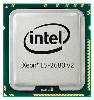 IBM 2.80GHz 8.00GT/s QPI 25MB L3 Cache Socket FCLGA2011 Intel Xeon E5-2680 v2 10 Core Processor Upgrade Mfr P/N 46W4352