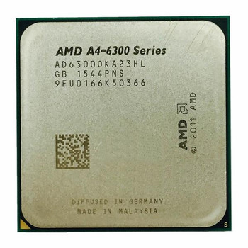 Lenovo 3.70GHz 1MB L2 Cache Socket FM2 AMD A4-Series A4-6300 Dual-Core Processor Upgrade Mfr P/N 03T7228