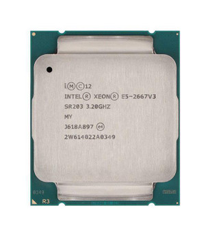Dell 3.20GHz 9.60GT/s QPI 20MB L3 Cache Socket FCLGA2011-3 Intel Xeon 8-Core Processor Upgrade Mfr P/N 4K8JW