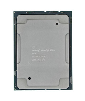 Dell 3.20GHz 10.40GT/s UPI 24.75MB L3 Cache Intel Xeon Gold 6134 8-Core Processor Upgrade Mfr P/N 04XPX2
