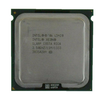 Fujitsu 2.50GHz 1333MHz FSB 12MB L2 Cache Socket LGA771 Intel Xeon L5420 Quad Core Processor Upgrade Mfr P/N V26808-B8237-V111