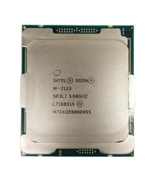Intel Xeon W-2123 Quad Core 3.60GHz 8.25MB Cache Socket FCLGA2066 Processor Mfr P/N L12132-001