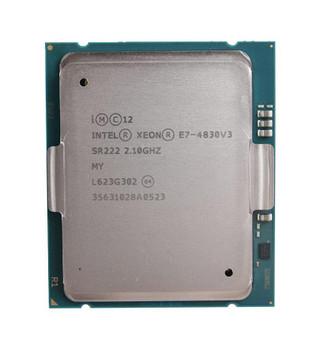 Dell 2.10GHz 8.00GT/s QPI 30MB L3 Cache Socket 2011-1 Intel Xeon E7-4830 v3 12 Core Processor Upgrade Mfr P/N 338-BHDI