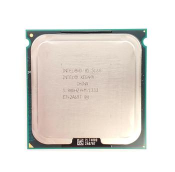 Intel Xeon 5160 Dual Core 3.00GHz 1333MHz FSB 4MB L2 Cache Socket LGA771 Processor Mfr P/N 5160DP