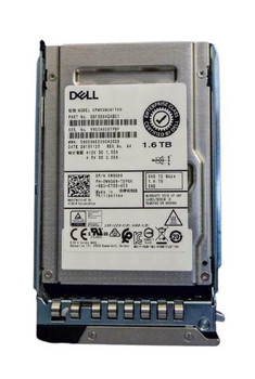 Dell 1.6TB TLC SAS 12Gbps Write Intensive 2.5-inch Internal Solid State Drive (SSD) Mfr P/N W9G88