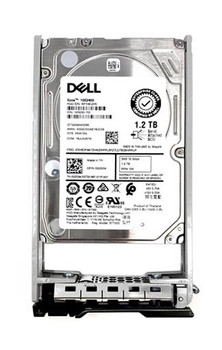 Dell 1.2TB 10000RPM SAS 12Gbps (512e) Hat Swap 2.5-inch Internal Hard Drive with Tray for PowerEdge Server Mfr P/N MG2XR