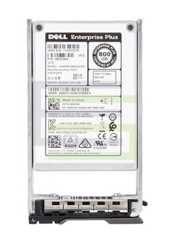 Dell 800GB MLC SAS 12Gbps Mainstream Endurance (ISE) 2.5-inch Internal Solid State Drive (SSD) Mfr P/N 0B35369