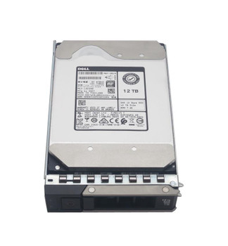 Dell 12TB 7200RPM SAS 12Gbps Nearline 3.5-inch Internal Hard Drive for Unity 15 x 3.5 Enclosure Mfr P/N 400-BGLS
