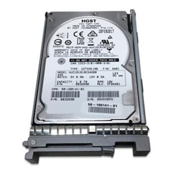 HGST Hitachi 1.8TB 10000RPM SAS 12Gbps 2.5-inch Internal Hard Drive Mfr P/N 0B32801