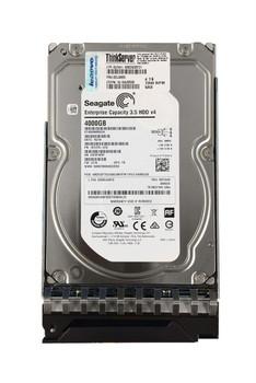 4XB0G88731 Lenovo 4TB 7200RPM SAS 12Gbps Hot Swap 128MB Cache 3.5-inch Internal Hard Drive for ThinkServer Gen5