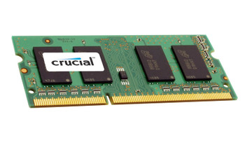 CT5492309 Crucial 8GB Kit (2 X 4GB) PC3-12800 DDR3-1600MHz non-ECC Unbuffered CL11 204-Pin SoDimm 1.35V Low Voltage Single Rank Memory for ASUS n53sn (Quad Core)