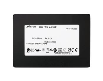 MTFDDAK7T6TDS-1AW1ZAB Micron 5300 Pro Series 7.68TB TLC SATA 6Gbps 2.5-inch Internal Solid State Drive (SSD)