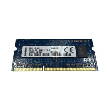 9995417-E35.A00G Kingston 4GB DDR3 SoDimm Non ECC PC3-12800 1600Mhz 1Rx8 Memory