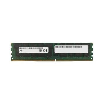 MTA72ASS8G72LZ-2G3A1 Micron 64GB DDR4 Registered ECC PC4-19200 2400Mhz 4Rx4 Memory