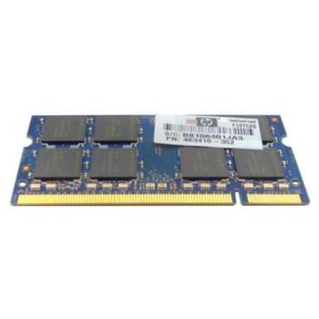 463410-352 HP 4GB DDR2 SoDimm Non ECC PC2-6400 800Mhz Memory