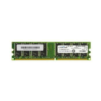 CT12864Z335 Crucial 1GB DDR Non ECC PC-2700 333Mhz Memory