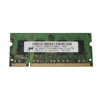 MT8HTF12864HDZ-800H1 Micron 1GB DDR2 SoDimm Non ECC PC2-6400 800Mhz Memory
