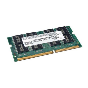 33L3070 IBM 256MB SODIMM Non Parity PC 100 100Mhz Memory
