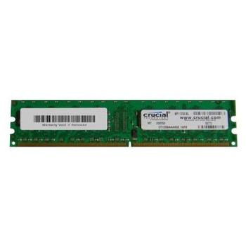 CT12864AA40E Crucial 1GB DDR2 Non ECC PC2-3200 400Mhz Memory
