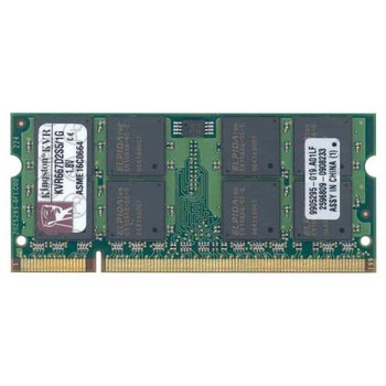 KVR667D2S5/1G Kingston 1GB DDR2 SoDimm Non ECC PC2-5300 667Mhz Memory