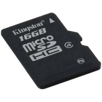 MBLY4G2/16GB Kingston 16GB Class 4 microSDHC Flash Memory Card