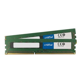 CT2KIT102472BD160B Crucial 16GB (2x8GB) DDR3 ECC PC3-12800 1600Mhz Memory
