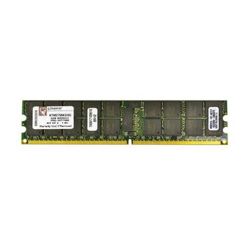 9965416-001.A01LF Kingston 8GB (2x4GB) DDR2 Registered ECC PC2-5300 667Mhz Memory