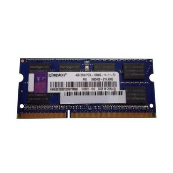9995428.E10-A00G Kingston 2GB DDR3 SoDimm Non ECC PC3-12800 1600Mhz 1Rx8 Memory
