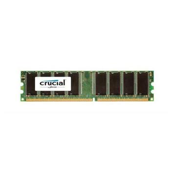 CT12872BA1339.9FF Crucial 1GB DDR3 ECC PC3-10600 1333Mhz 1Rx8 Memory