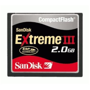 SDCFX3-2048-901 SanDisk Extreme III 2GB CompactFlash (CF) Memory Card