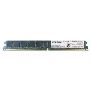 CT25672AV667.18FE Crucial 2GB DDR2 Registered ECC PC2-5300 667Mhz 1Rx4 Memory