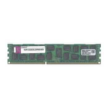 KVR1333D3LD4R9S/8GI Kingston 8GB DDR3 Registered ECC PC3-10600 1333Mhz 2Rx4 Memory