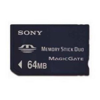 MSH-M64 Sony 64MB Pro Duo Stick Flash Memory Card