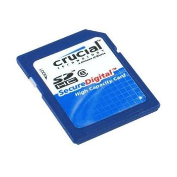 CT8GBSDHC Crucial 8GB SDHC Flash Memory Card