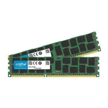 CT2K16G3ERSDD4186D Crucial 32GB (2x16GB) DDR3 Registered ECC PC3-14900 1866Mhz Memory
