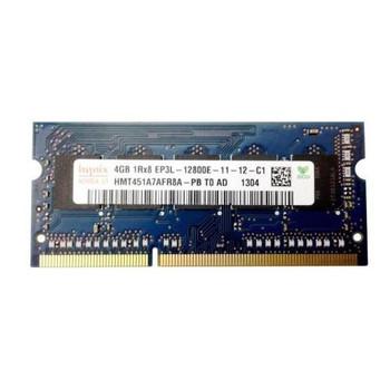 HMT451A7AFR8A-PB Hynix 4GB DDR3 SoDimm ECC PC3-12800 1600Mhz 1Rx8 Memory