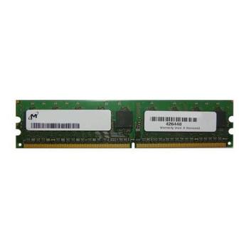 MT9HTF6472AY-667A2 Micron 512MB DDR2 ECC PC2-5300 667Mhz Memory