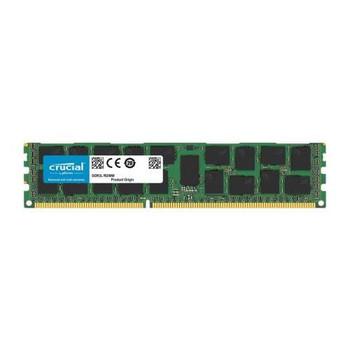 CT16G3ERSDD4186D.36FED Crucial 16GB DDR3 Registered ECC PC3-14900 1866Mhz 2Rx4 Memory