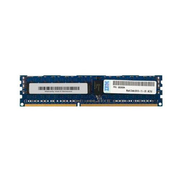 00D5034 IBM 8GB DDR3 Registered ECC PC3-14900 1866Mhz 1Rx4 Memory
