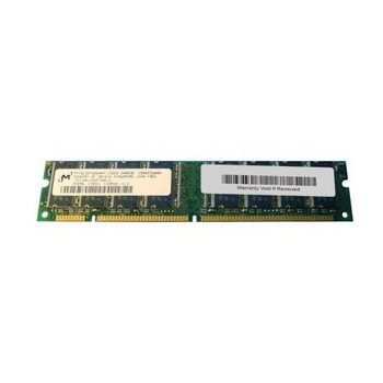 MT16LSDT3264AY-133G3 Micron 256MB SDRAM Non ECC PC-133 133Mhz Memory