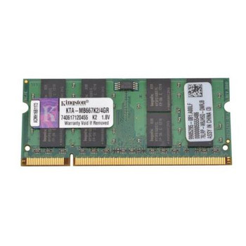 9905295-081.A00LF Kingston 4GB (2x2GB) DDR2 SoDimm Non ECC PC2-5300 667Mhz Memory