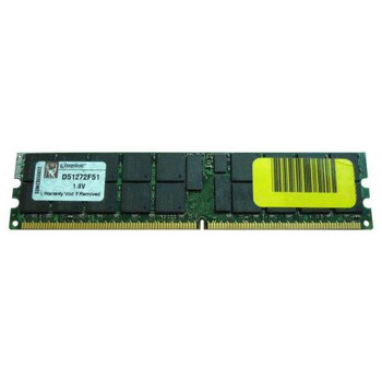 D51272F51 Kingston 4GB DDR2 Registered ECC PC2-5300 667Mhz 2Rx4 Memory