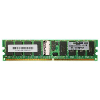 345114-061 HP 2GB DDR2 Registered ECC PC2-3200 400Mhz 2Rx4 Memory