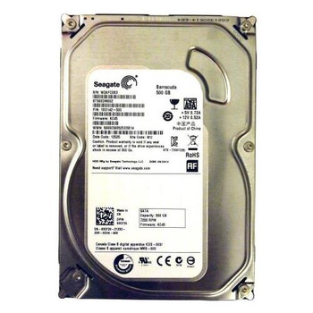 1BD142-500 Seagate 500GB 7200RPM SATA 6.0 Gbps 3.5 16MB Cache Barracuda Hard Drive