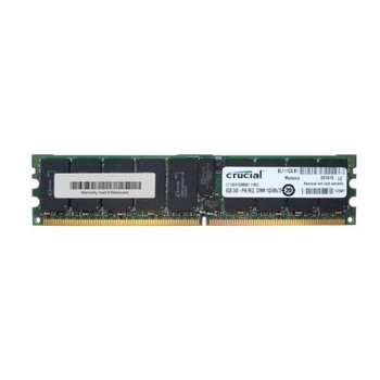 CT102472AB667.I18DI Crucial 8GB DDR2 Registered ECC PC2-5300 667Mhz 2Rx4 Memory